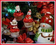 Christmas Cupcakes 100% edible