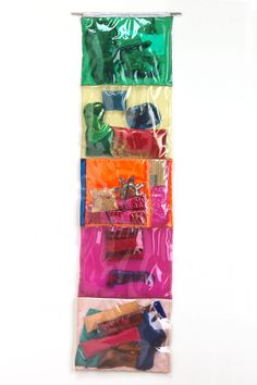 A wall-hanging assemblage, Joyce Weiland's sown-together, multicoloured plastic sleeves contain references to the Vietnam War and echo Pop art's interest in commodities. Vancouver Art Gallery, Multimedia Artist, Canada, Canadian Artists, Online Art, Art Reference, Book Art, Original Art, Movie