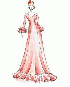 Fashion Design Sketches, Aurora Sleeping Beauty, Boyfriend, Disney Princess, Color, Templates, Dressmaking, Colour, Disney Princesses