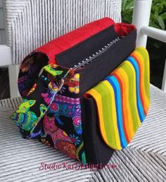 The Flaptastic Bag - Sewing Pattern by StudioKat Designs