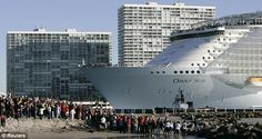 Royal Caribbean's Oasis of the Seas is HUGE! Finance your cruise with United Military Travel by calling 866-582-9579 or apply online at http://www.unitedmilitarytravel.com/main/index.php?option=com_facileforms&Itemid=6