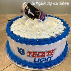 Discover recipes, home ideas, style inspiration and other ideas to try. Diy Birthday Cake, Birthday Beer, 21st Birthday, Cake Design For Men, Cake Tower, Light Cakes, Diy Cake, Cake Craft, Cakes For Women