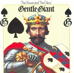 Gentle Giant - Power & The Glory (Steven Wilson Mix) [Cd] Uk - Import Progressive Rock, Rare Vinyl Records, Lp Vinyl, Steven Wilson, Rock Album Covers, Rock Cover, 3d Fantasy, Gentle Giant, Classic Rock