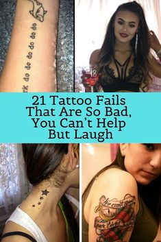 21 Tattoo Fails That Are So Bad, You Can't Help But Laugh In fact, I can't imagine tattoos any WORSE than the ones listed below. Maybe they were done in prisons or they were tattoo selfies.