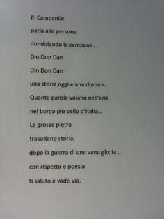 Poesia al campanile di sesto al reghena