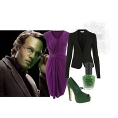 Bruce Banner/ Hulk inspired outfit
