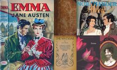 Jane Austen's fashion history: 200 years of cover designs – in pictures (from The Guardian)