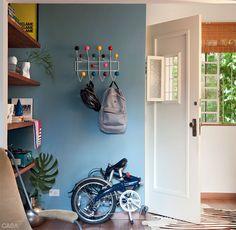 Bicicleta dobravel ou escultura pra enfeitar a sala?