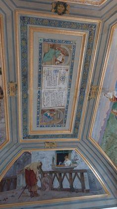 Il soffitto del Tempio di Dionise - Museo Archeologico Nazionale #napoli #domenicalmuseo