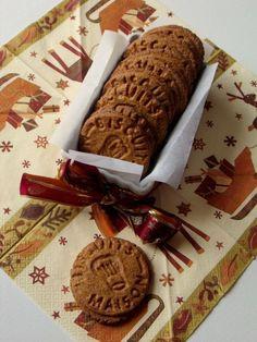 Spéculoos faits maison ~ cadeaux gourmands ~