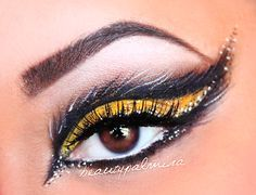 bumble bee makeup ideas - Google Search