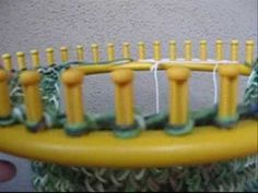 In partnership with http://www.allfreeknitting.com I am pleased to present this video about How to use a Round Knitting Loom to make a flat panel by Fayme Harper.  For more free knitting patterns, tips and tutorials go to http://www.allfreeknitting.com.  Use this use this flat panel technique to make blankets, shawls, vests, mats and other f...