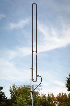 2-Meter-VHF-SLIM-JIM-amateur-ham-radio-J-Pole-base-antenna-144-148MHz