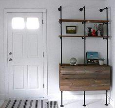 Аксессуары и предметы мебели из водопроводных труб