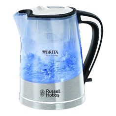 Russell Hobbs 22851 This super stylish purity kettle from Russell Hobbs comes with a built in Brita water filter system that can reduce the limescale and chlorine and will permanently absorb any copper and lead that can  http://www.MightGet.com/february-2017-3/russell-hobbs-22851.asp