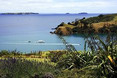 The entrance to Matiatia, how I love the feeling of coming home to Waiheke - relaxed, beautiful, unspoilt. Photo by Andrea Glazier.