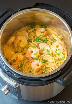 Best Instant Pot Bang Bang Shrimp Pasta Recipe