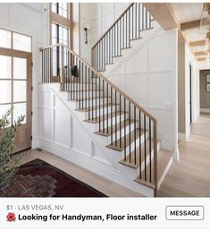 House Staircase, Staircase Remodel, Staircase Design, Stairs, Staircases, Interior Photo, Home Interior Design, Design Interiors, Kitchen Interior