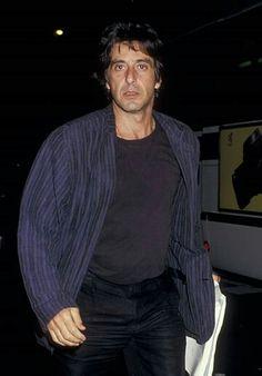 Just Al Young Al Pacino, Carlo Gambino, Andy Garcia, American Legend, Carlito's Way, Idole, Marlon Brando, Clint Eastwood, Hollywood Actor