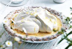 Buttermilch-Pie mit Rahm-Obers-Creme