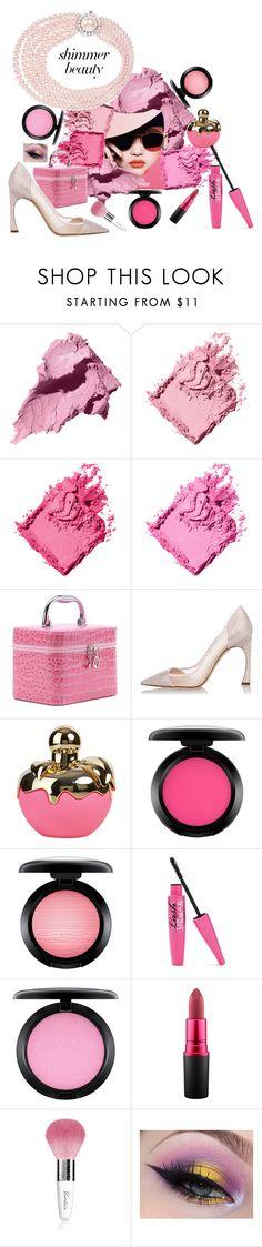 """Sin título #300"" by abaloriosestilos ❤ liked on Polyvore featuring beauty, Bobbi Brown Cosmetics, WithChic, Christian Dior, Nina Ricci, MAC Cosmetics, Guerlain and Miu Miu"