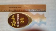 Stroh's Dark Beer tap. Vintage tap handle by QuirkyGiraffes
