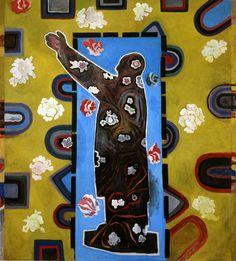 Yu Youhan - The Waving Mao (Yellow Pattern), 1995