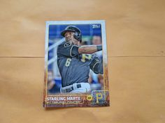 2015 TOPPS BASE CARD STARLING MARTE # 79 #PittsburghPirates