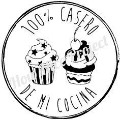 Sello de caucho – 100% Casero de Mi Cocina | How Nice Project!