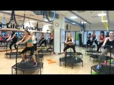 ▶ The Most Insane Exercise Class Ever - YouTube. Call me insane, but this actually looks like fun!