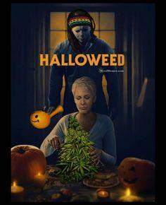 Happy Halloweed. #weedmemes #marijuana #cannabis #stoners #potheads #halloweed