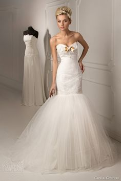 Capelli Couture 2013 Bridal Collection - Lalique Strapless Mermaid Wedding Dress