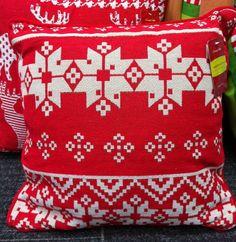 Christmas Cushion - Snowflakes £10
