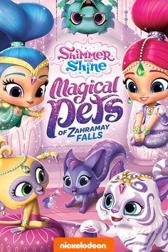 Boom Zahra-PETS! Cuddle up with the adorable animals of the genie world in Shimmer and Shine in 8 awesome tails. Help Leah find her furever pet friend, meet Kaz's magical Ziffilon and grab a seat for an epic Pet Talent Show starring Tala, Nahal, Nazboo and more! This kids dvd will provide hours of entertainment for your Shimmer and Shine fan!