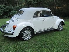1977 Volkswagen Beetle Convertible Champagne Edition $13,800