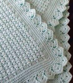 Tanti modelli di copertine all'uncinetto per i più piccoli. Clicca sula foto per gli schemi.
