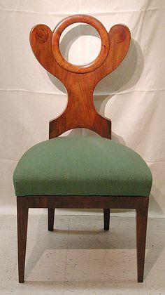 Side Chair, ca. 1820-30. Austrian. The Metropolitan Museum of Art, New York. Bequest of Margareta Wolf, 2013 (2003.448.4)