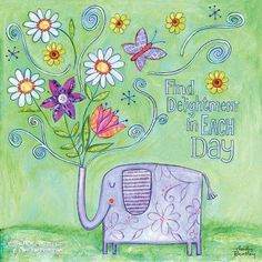 For everything that lives is holy, life delights in life.  ~ William Blake  ~ Art by Wendy Bentley