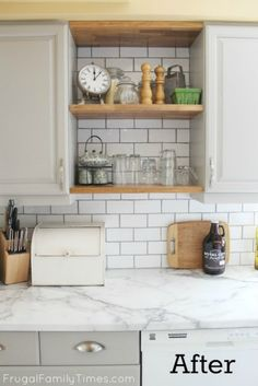 Elegant Dipping Kitchen Cabinet Doors