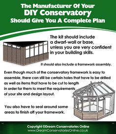 DIY Conservatories, Conservatory Kits and Conservatory Steel Bases Diy Conservatory, Conservatories, Best Places To Live, Make Arrangements, Texts, Insight, Investing, Things To Come, Make It Yourself