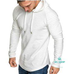 2018 New Mens Hoodies Brand Fashion Men Solid Color Sweatshirt Male Hoody Hip Hop Autumn Winter Hoodie Mens Pullover XXXL - Men's Style 2020 Stylish Mens Haircuts, Stylish Mens Outfits, Outfits Hipster, Hip Hop, Swag, Best Mens Fashion, Classy Mens Fashion, Winter Hoodies, Winter Mode