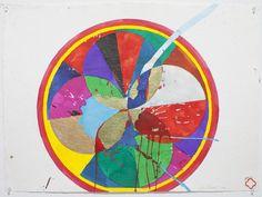 Max Gimblett | Blue Break (2010), Available for Sale | Artsy Design Art, Artsy, Sketches, Inspire, Ink, Paper, Drawings, Artwork, Handmade