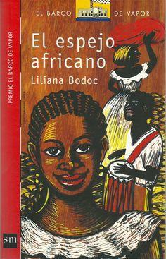 """""""El espejo africano"""", Liliana Bodoc.  Leer los primeros capítulos: http://www.imaginaria.com.ar/2008/10/los-primeros-capitulos-de-el-espejo-africano-novela-de-liliana-bodoc/"""