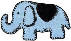Elephant Stuffed Toy Free Sewing Pattern - KarensVariety.com