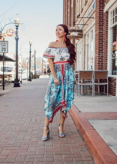 Summer Dress || Women's Fashion || Women's Style || OOTD || Wedding Guest Outfit || Shop Goldylox || Indianapolis Boutique || Vacation Style || Beach Dress
