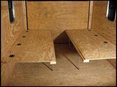 enclosed camper bunkbed designs - Google Search