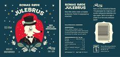 Roma Julebrus Label