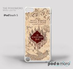 Harry Potter Marauders Map for iPhone 4/4S, iPhone 5/5S, iPhone 5c, iPhone 6, iPhone 6 Plus, iPod 4, iPod 5, Samsung Galaxy S3, Galaxy S4, Galaxy S5, Galaxy S6, Samsung Galaxy Note 3, Galaxy Note 4, Phone Case