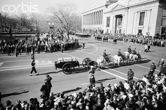 JFK's funeral procession televised