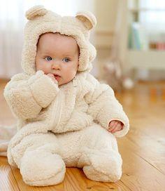 Déguisement bébé, joli petit ourson